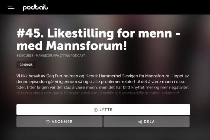Podcast med Mannsforum
